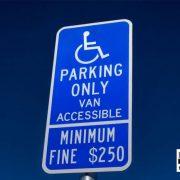 handicap parking laws in california