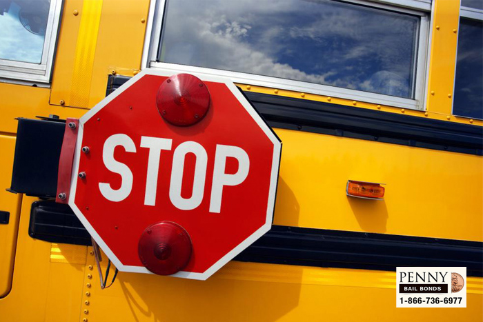 school bus laws california