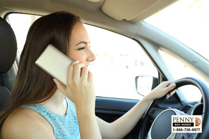 texting and driving laws california