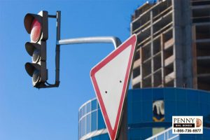 downed traffic light upland bail bonds