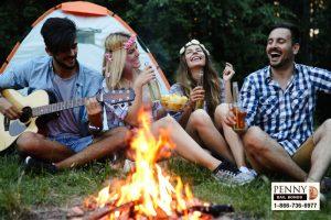 california camping rules