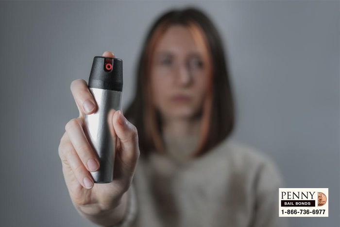 pepper spray laws california